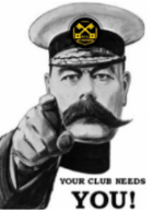 Your Club Needs You!!!